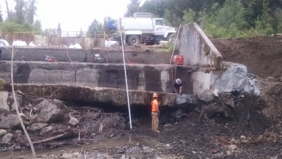 Red Blanket Dam Rehabilitation